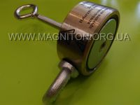2xF200 кг двухсторонний поисковый магнит Тритон от магазина Магнитон