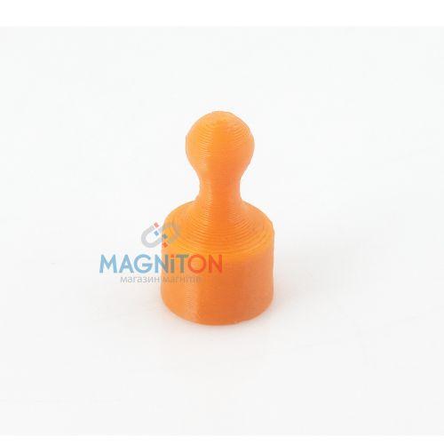 пешка для стеклянной доски оранжевая