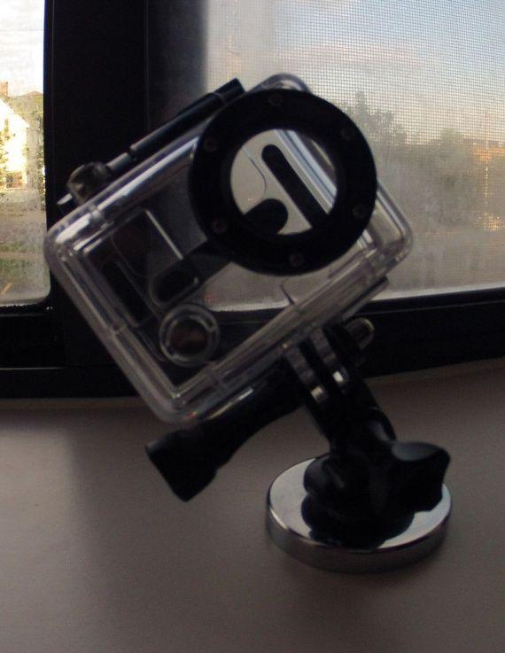GoPro Hero крепление на магните 30х5 мм