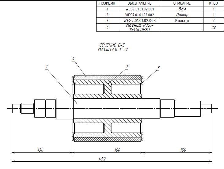 магнитный сегмент генератор схема