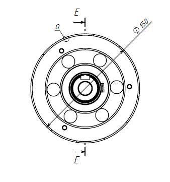 магнит для генератора чертеж