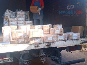Посылки с магнитами торговой марки магнитон при отправке и доставке