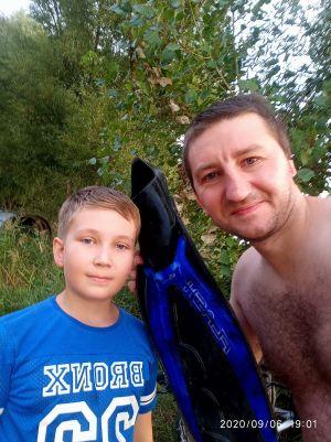 Що можна витягти з води на пошуковий магніт - магнітна рибалка - Євген з сином і ласта