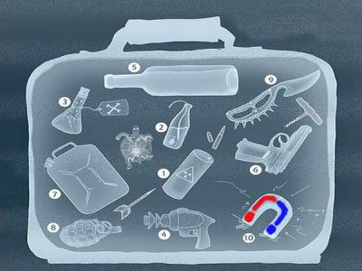 как провозить магниты в самолете