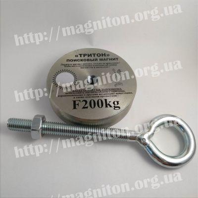 магнит поисковый тритон 200 кг
