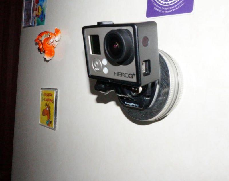 магнитное крпление камеры GoPro Hero3+