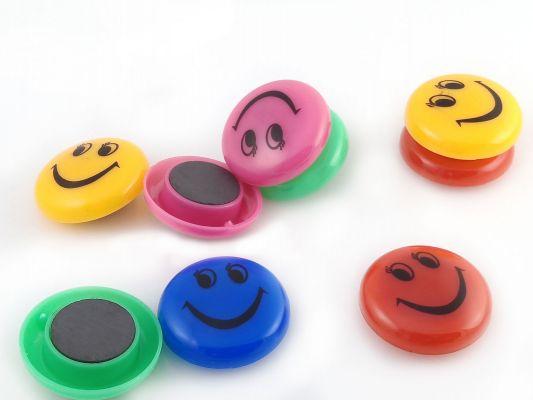 магнитики для офиса цветные смайлики