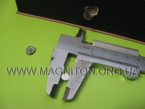 измерение диаметра магнита