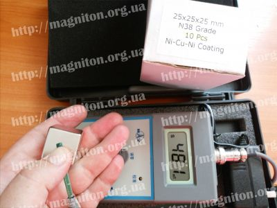 магнит куб измерение индукции магнитного поля магнитов