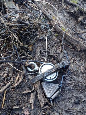 знахідки на пошуковий магніт - риболовні грузики