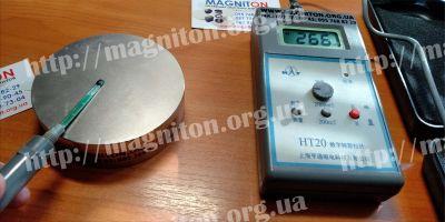 измерение магнитной индукции на поверхности магнита 100х30мм N38, как проверить магнит