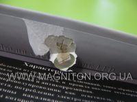 обратный клапан с металлическим диском для магнита