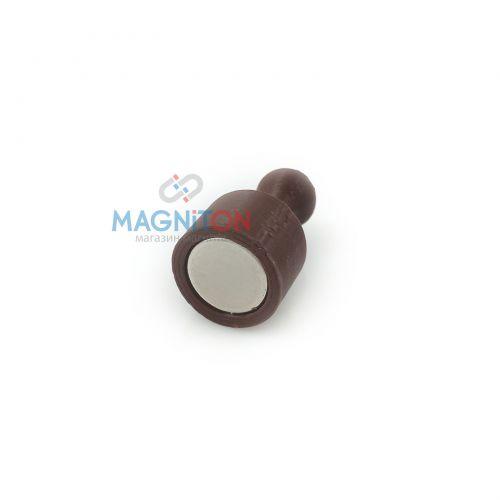 магнит на доску стеклянную коричневый купить украина