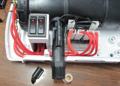 atmor - ремонт водонагревателя и замена неодимового магнита Магнитон