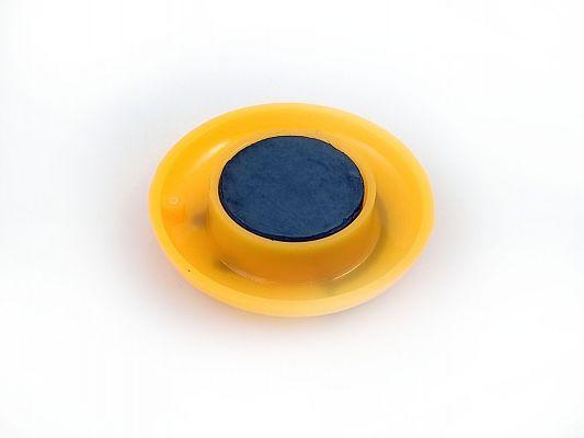 ферритовый магнит на доску желтый смайлик