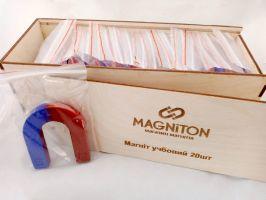 Подковообразный магнит для уроков физики магнитон