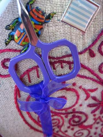Магнитик для вышивания
