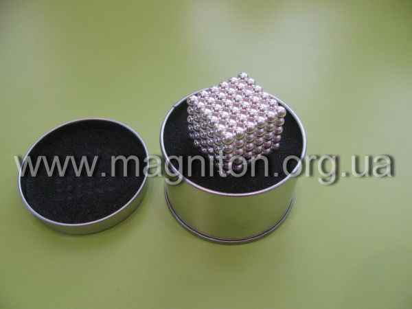 неокуб серебро игрушка магнит на подарок