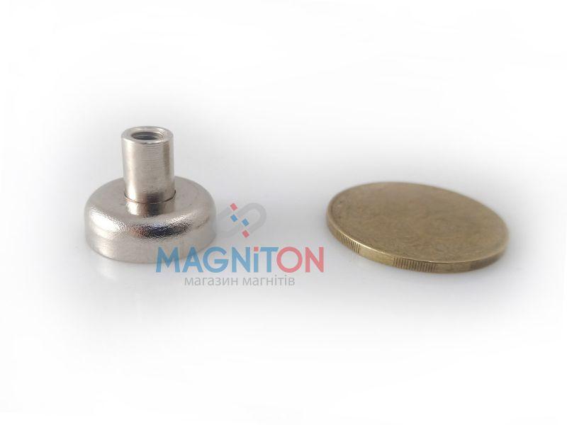 магнит в корпусе под болт d16