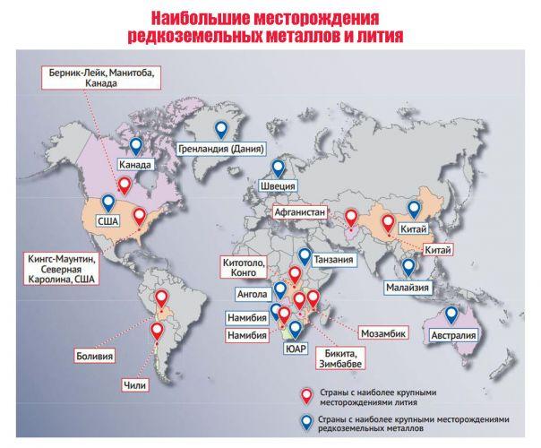 mirove-podorozhcannya-magnityv-2021 месторождения неодима и лития в мире карта