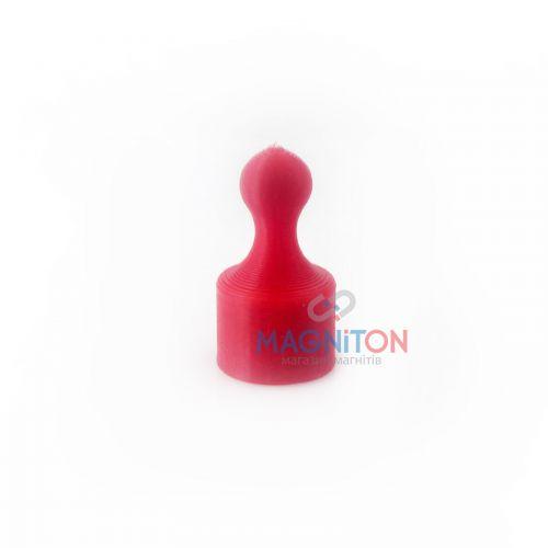 магнит для стеклянной доски красный