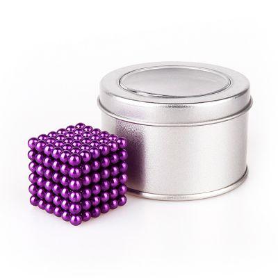 Неокуб Фиолетовый в жестяной коробочке