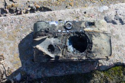 фотоапарат знайдений пошуковим магнітом